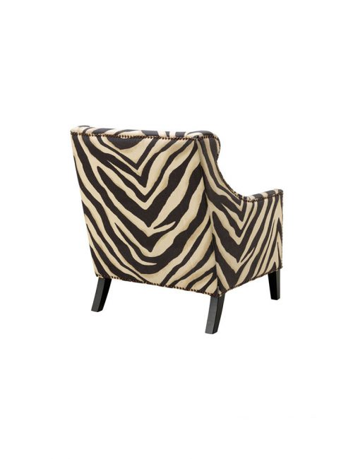 Jenner Zebra Lounge Chair